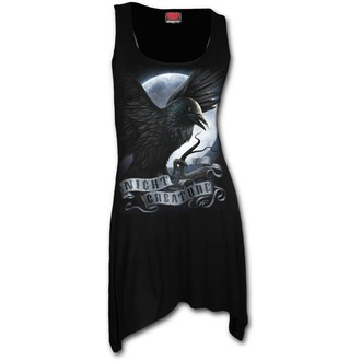 Damen Kleid Tunika SPIRAL - Night Creature - Schwarz - T116F105