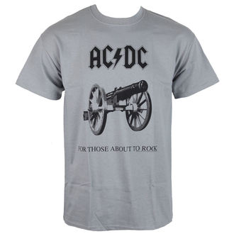 Herren Metal T-Shirt  AC-DC - For Those about to rock - LOW FREQUENCY, LOW FREQUENCY, AC-DC