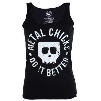 Damen Tank Top METAL CHICKS DO IT BETTER - Skull, METAL CHICKS DO IT BETTER