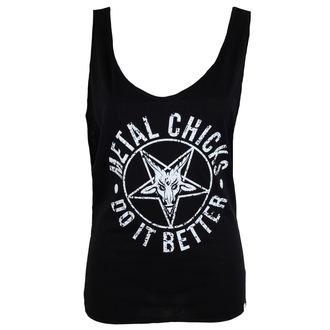 Damen Tank Top METAL CHICKS DO IT BETTER - Pentagramm, METAL CHICKS DO IT BETTER