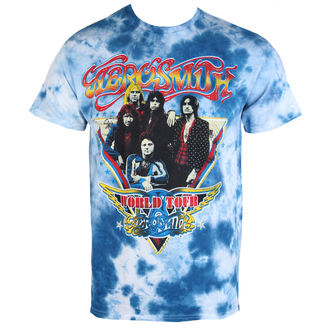 Herren T-Shirt Metal Aerosmith - World Tour Triangle - BAILEY, BAILEY, Aerosmith