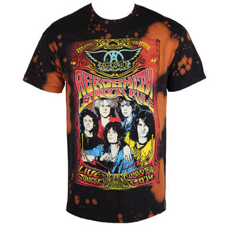 Herren T-Shirt Metal Aerosmith - Worldtour - BAILEY, BAILEY, Aerosmith