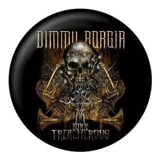 Ansteckbutton DIMMU BORGIR - Born treacherous - NUCLEAR BLAST, NUCLEAR BLAST, Dimmu Borgir