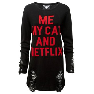 Unisex Sweatshirt KILLSTAR - My Cat Distress, KILLSTAR