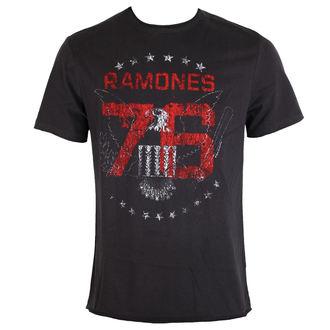 Herren T-Shirt Metal Ramones - Charcoal - AMPLIFIED, AMPLIFIED, Ramones