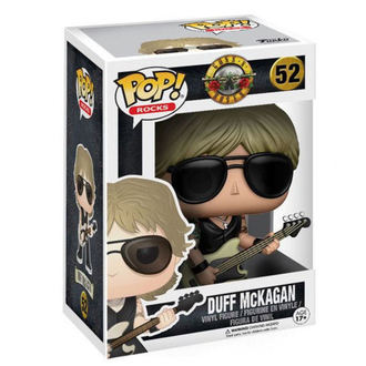 Figur Karikatur - Guns N ' Rosen - Duff McKagan - POP!, POP, Guns N' Roses