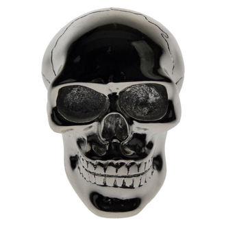 Dekoration - Schalthebel Kopf -  Silver Skull Gear - BESCHÄDIGT, Nemesis now