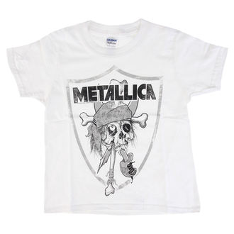 Kinder T-Shirt Metal Metallica - Pirate -, Metallica