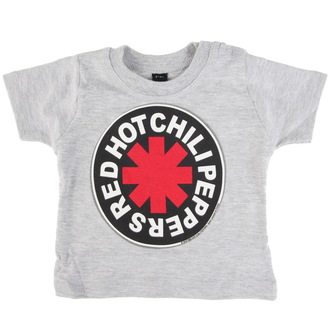 Kinder T-Shirt Metal Red Hot Chili Peppers - Logo in Circle -, Red Hot Chili Peppers