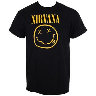 Herren T-Shirt Nirvana - Smiley Logo - LIVE NATION