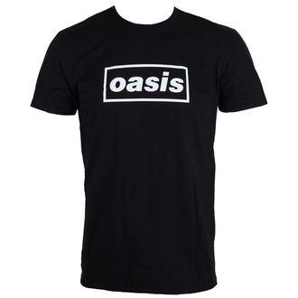 Herren T-Shirt Metal Oasis - Black Logo - LIVE NATION, LIVE NATION, Oasis