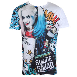 Herren T-Shirt Film Suicide Squad - Graffiti - LIVE NATION, LIVE NATION