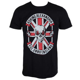 Herren T-Shirt Metal Asking Alexandria - Rebel - LIVE NATION, LIVE NATION, Asking Alexandria