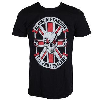 Herren T-Shirt Metal Asking Alexandria - Rebel - LIVE NATION