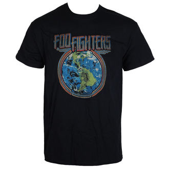 Herren T-Shirt Metal Foo Fighters - Globe - LIVE NATION, LIVE NATION, Foo Fighters