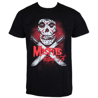 Herren T-Shirt Metal Misfits - Friday 13Th - LIVE NATION, LIVE NATION, Misfits