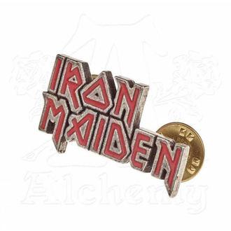 Reißzwecke Iron Maiden - ALCHEMY GOTHIC - Enamel Logo, ALCHEMY GOTHIC, Iron Maiden