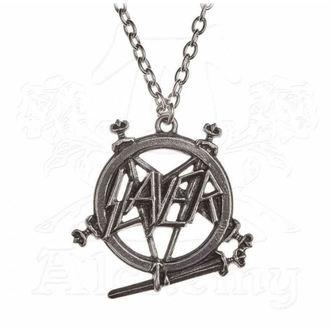 Anhänger mit Kette Slayer - ALCHEMY GOTHIC - Pentagramm, ALCHEMY GOTHIC, Slayer