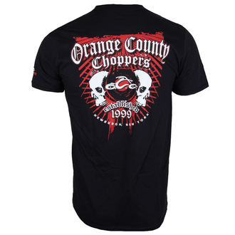 Herren T-Shirt - Two Skulls - ORANGE COUNTY CHOPPERS, ORANGE COUNTY CHOPPERS