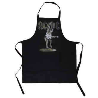 Schürze AC / DC - Stiff Upper Lip Apron - LOW FREQUENCY, LOW FREQUENCY, AC-DC