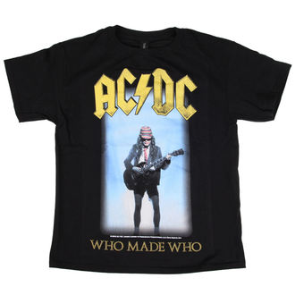 Kinder T-Shirt Metal AC-DC - Who Made Who - LOW FREQUENCY, LOW FREQUENCY, AC-DC