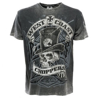 Herren T-Shirt - WCC CASH ONLY - West Coast Choppers, West Coast Choppers