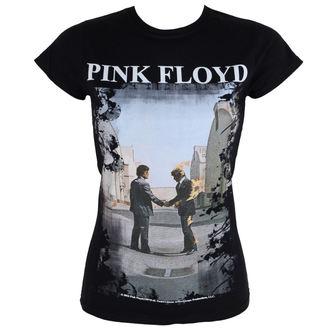 Damen T-Shirt Metal Pink Floyd - Burning Man - LOW FREQUENCY, LOW FREQUENCY, Pink Floyd