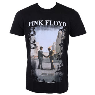 Herren T-Shirt Metal Pink Floyd - Burning Man - LOW FREQUENCY, LOW FREQUENCY, Pink Floyd
