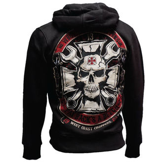 Herren Hoodie - MECHANIC ZIP HOODY - West Coast Choppers