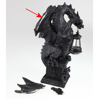 Dekoration Black Dragon Light, Nemesis now