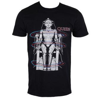 Herren T-Shirt Metal Queen - European Tour 1984 - ROCK OFF, ROCK OFF, Queen