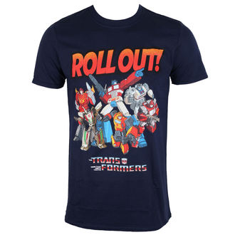 Herren T-Shirt Film Transformers - Roll Out - ROCK OFF, ROCK OFF