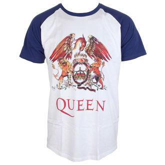 Herren T-Shirt Metal Queen - Classic Crest - ROCK OFF - QUSSRAG01MN