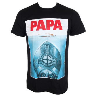 Herern T-Shirt Metal Ghost - Papa Jaws - ROCK OFF, ROCK OFF, Ghost