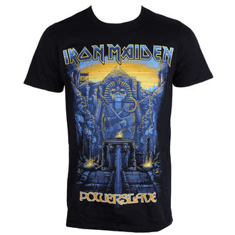 Herren T-Shirt Metal Iron Maiden - Dark Ink Powerslaves - ROCK OFF, ROCK OFF, Iron Maiden