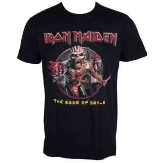 Herren T-Shirt Metal Iron Maiden - Book Of Souls - ROCK OFF, ROCK OFF, Iron Maiden
