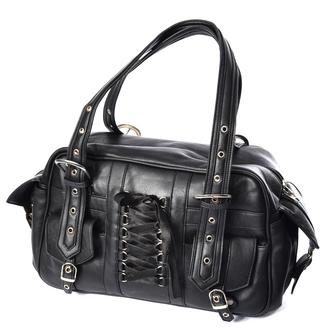 Handtasche (Tasche) POIZEN INDUSTRIES - BECCA - SCHWARZ, POIZEN INDUSTRIES