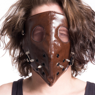 Maske POIZEN INDUSTRIES - HANNIBAL FACE - BRAUN, POIZEN INDUSTRIES