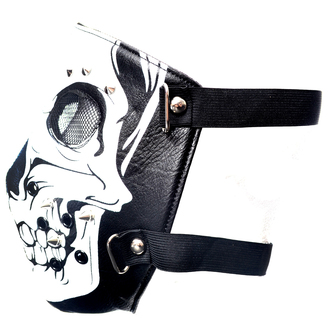 Maske POIZEN INDUSTRIES - SKULL FACE - SCHWARZ, POIZEN INDUSTRIES