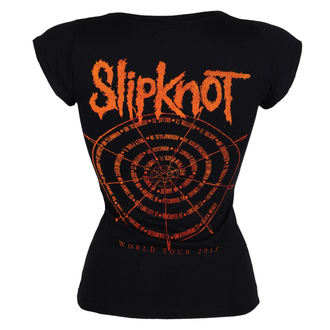 Damen T-Shirt Metal Slipknot - The wheel - ROCK OFF, ROCK OFF, Slipknot