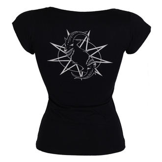 Damen T-Shirt Metal Slipknot - Goat Star Logo - ROCK OFF, ROCK OFF, Slipknot
