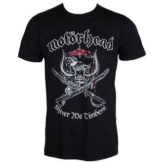 Herren T-Shirt Metal Motörhead - Shiver Me Timbers - ROCK OFF, ROCK OFF, Motörhead
