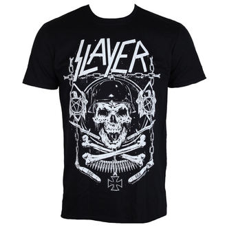 Herren T-Shirt Metal Slayer - Skull & Bones - ROCK OFF, ROCK OFF, Slayer