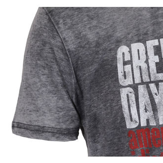 Herren T-Shirt Metal Green Day - American idiot - ROCK OFF, ROCK OFF, Green Day
