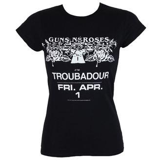 Damen T-Shirt Metal Guns N' Roses - Troubadour - ROCK OFF, ROCK OFF, Guns N' Roses