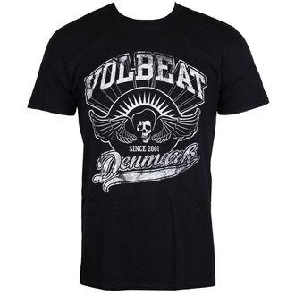 Herren T-Shirt Metal Volbeat - Rise From Denmark - ROCK OFF, ROCK OFF, Volbeat