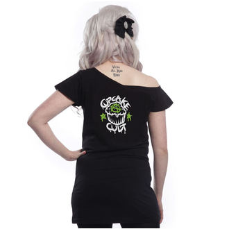 Damen T-Shirt - VOODOO DRAGON OFF SHOULDER - CUPCAKE CULT, CUPCAKE CULT
