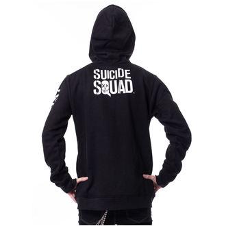 Herren Hoodie Suicide Squad - GRIN Black -