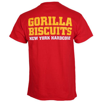 Herren T-Shirt Metal Gorilla Biscuits - Hold Your Ground - KINGS ROAD, KINGS ROAD, Gorilla Biscuits