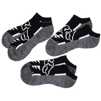 Kurze Socken FOX - Perf No Show - Schwarz, FOX